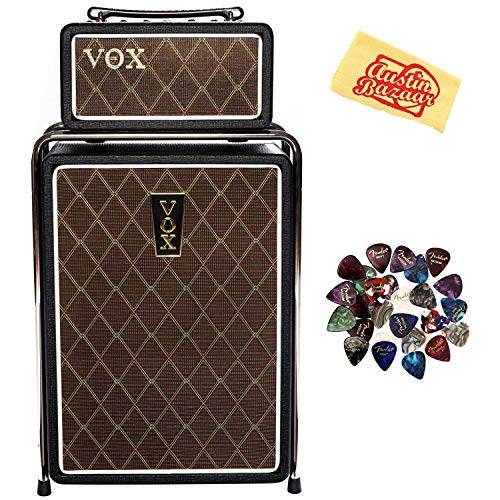 (Vox MSB25 Mini Superbeetle Guitar Amplifier Bundle with Picks and Austin Bazaar Polishing Cloth)