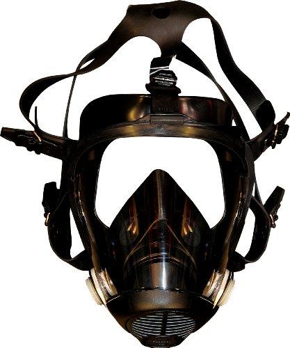 Sperian AX88A Full Face Respirator/Gas Mask, Medium