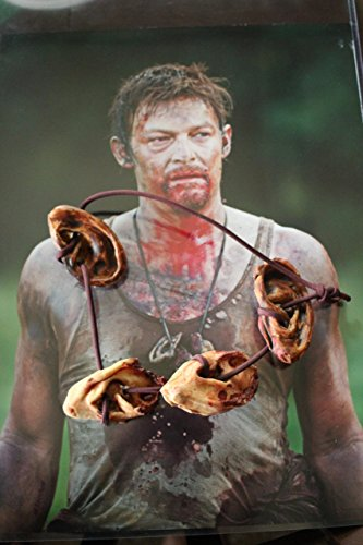 Walking Dead's Daryl Dixon Severed Ear Necklace]()