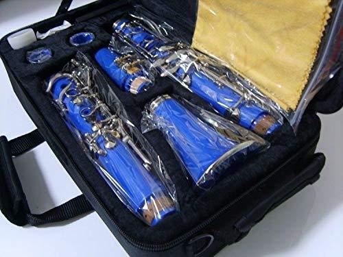 FidgetKute Clarinet Bb Great Material technic Tone Blue #34222 Show One Size