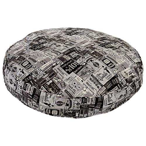 Molly Mutt 10 Years Dog Bed Duvet Cover, Petite Round - 100% Cotton, Durable, - Duvet Mutt Dog Molly