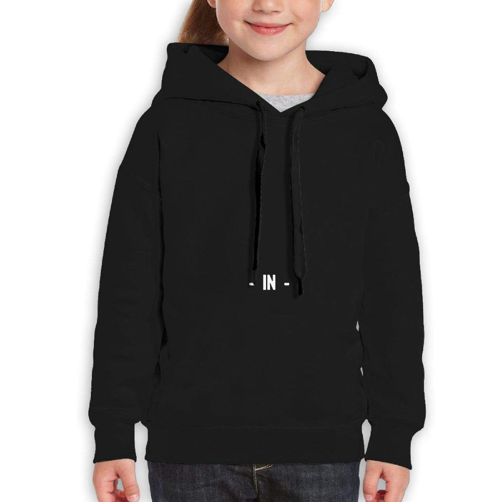 Yishuo Youth Limited Edition Friday Fashion Travel Sweater Black