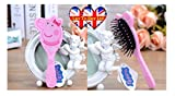 Peppa Pig Pink Hair Brush, Girls Accessory, Hair Brush (Same Day Dispatch)
