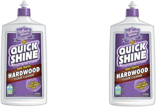 Amazon Com Quick Shine High Traffic Hardwood Floor Cleaner 27 Fl