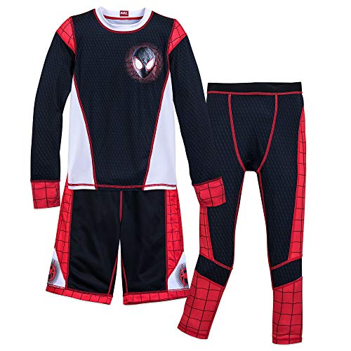 Marvel Spider-Man: Into The Spider-Verse Athleisure Set for Boys Black