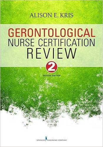 Gratis nedlasting av e-bøker i pdf-format Gerontological Nurse Certification Review, Second Edition (Norsk litteratur) FB2
