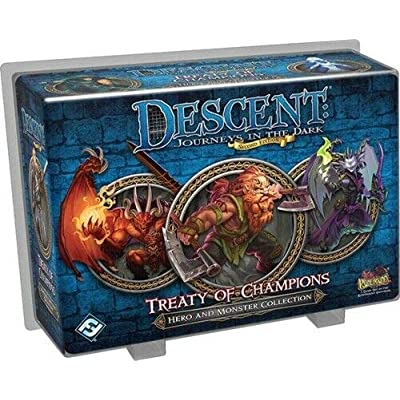 Descent Second Edition: Treaty of Champions: Toys & Games