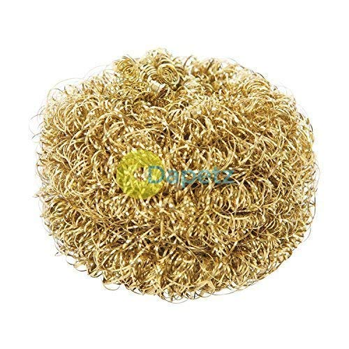 Dapetz /® Soldering Tip Cleaning Ball Refill 50mm Brass Wool Cleans Without Water