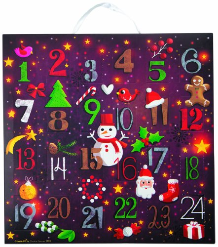 Janod Advent Calendar Puzzle Red product image