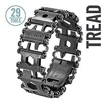 Leatherman Tread Bracelet - The Travel Friendly Wearable Multi-Tool, Black