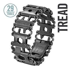 Leatherman - Tread Bracelet, The Travel Friendly Wearable Multitool, Black