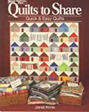 Quilts to Share, Janet Kime, 094357479X