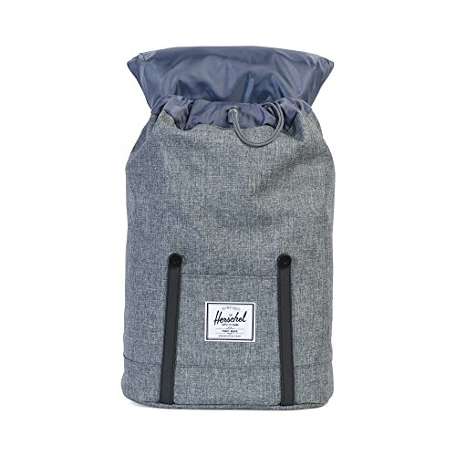 1e226211aebf Herschel Retreat Backpack-Raven Crosshatch Black Rubber - KAUF.COM is  exciting!