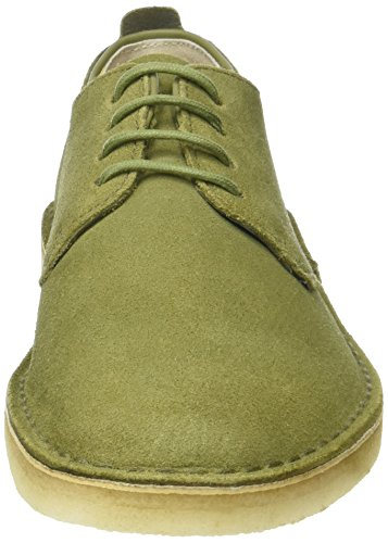 Clarks Desert London - Scarpe Stringate Uomo Verde (Olive Suede)