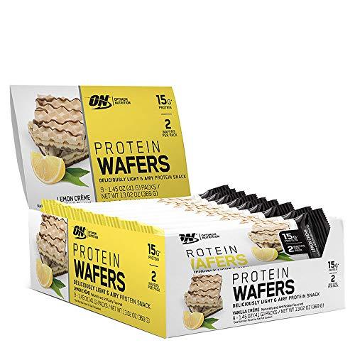 Optimum Nutrition Protein Wafers – Lemon Crème