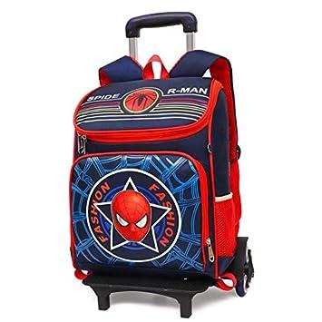 Qp-sb Alumnos Trolley Mochilas Escolares Mochilas Infantiles Trolley Bags Chicos Mochilas Escolares con Ruedas