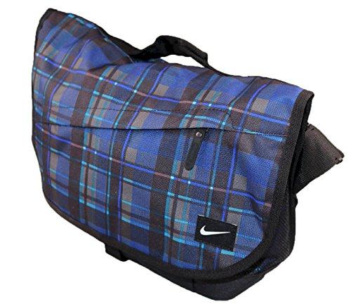 92dd471b6e Nike Unisex AD Metropolis Laptop Messenger Bag Plaid Blue Black - Buy Online  in UAE.