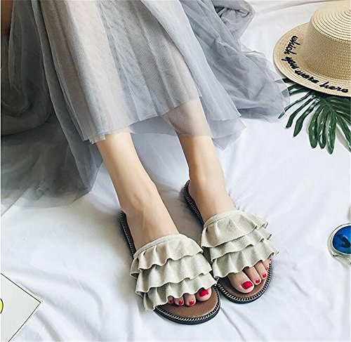 Walking Sandals Slippers Casual Slide House Queena Wheeler Women Shower Support Home Red for Shoes Beach qAxX7OtHw