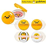 Holika Holika Gudetama Gift Set (Blusher #01+Cushion Puff 4EA) + Gift Samples