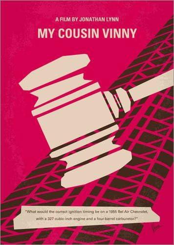 Cuadro de metacrilato 120 x 170 cm: No852 My Cousin Vinny Minimal Movie Poster de chungkong: chungkong: Amazon.es: Hogar
