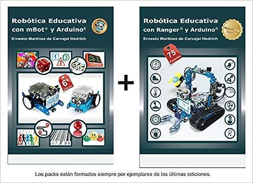 Pack 2 Libros Makeblock: mBot + Ranger: Amazon.es: Ernesto Martínez de Carvajal Hedrich: Libros