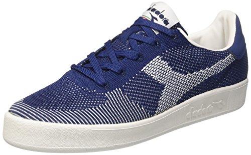 Bianco Blu Diadora Collo Bianco Bianco SPW a Sneaker Basso Weave B Estate Uomo Elite wnxPwvpU