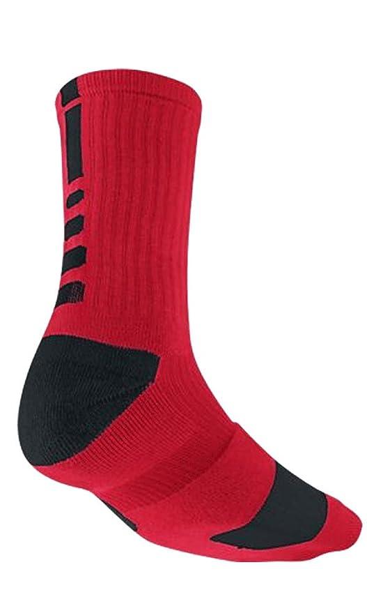 abf4b1c7f143 Amazon.com   Nike Elite Men s Cushioned Crew Sock Dri-Fit Basketball ...