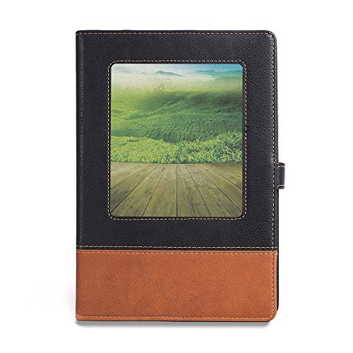 - Environmental-friendly notebook,Green,A5(6.1