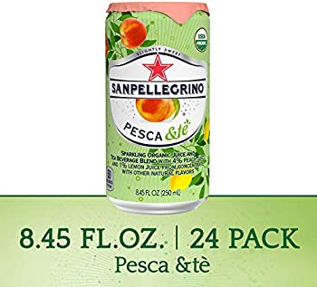 24-Pack Sanpellegrino 8.45 Fl. Oz Organic Juice & Tea Beverage Blend