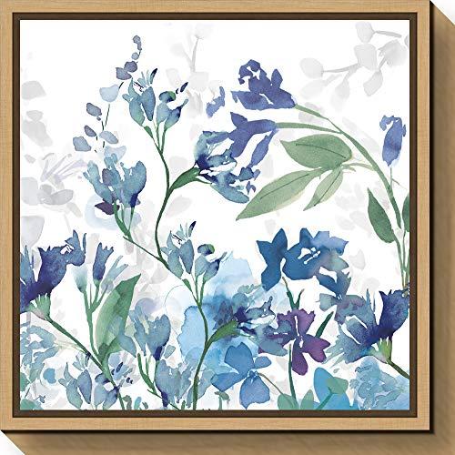 Amanti Art Colors of The Garden III Cool Shadows by Wild Apple Portfolio Canvas Art Framed, Small Sylvie Maple, 240934
