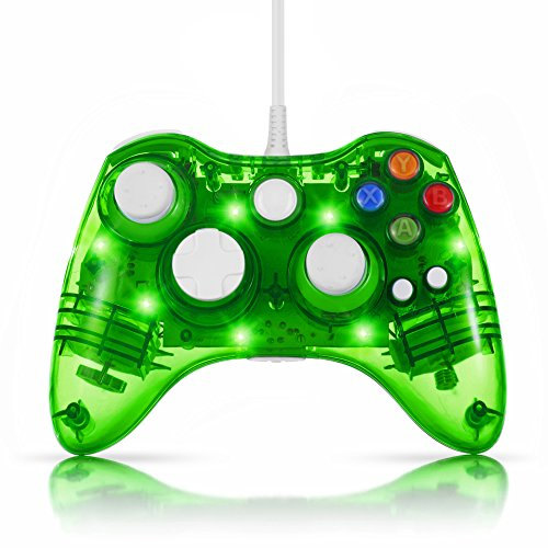 TNP Wired Gamepad Controller Green