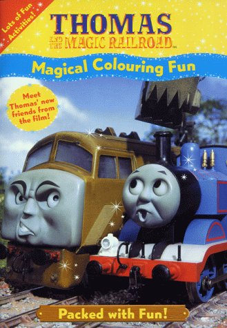 Thomas and the Magic Railroad - Magical Colouring (Thomas and the Magic Railroad) (Thomas & the Magic Railroad)