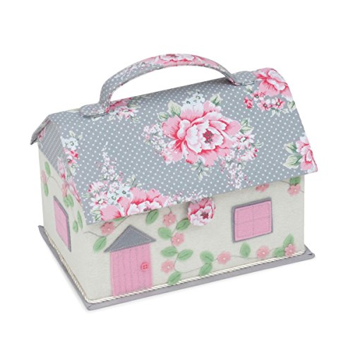 Hobby Gift Classic Cottage Sewing Box Beautiful Bloom ()