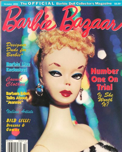 Barbie Bazaar October 2001-Designer Duds for Barbie