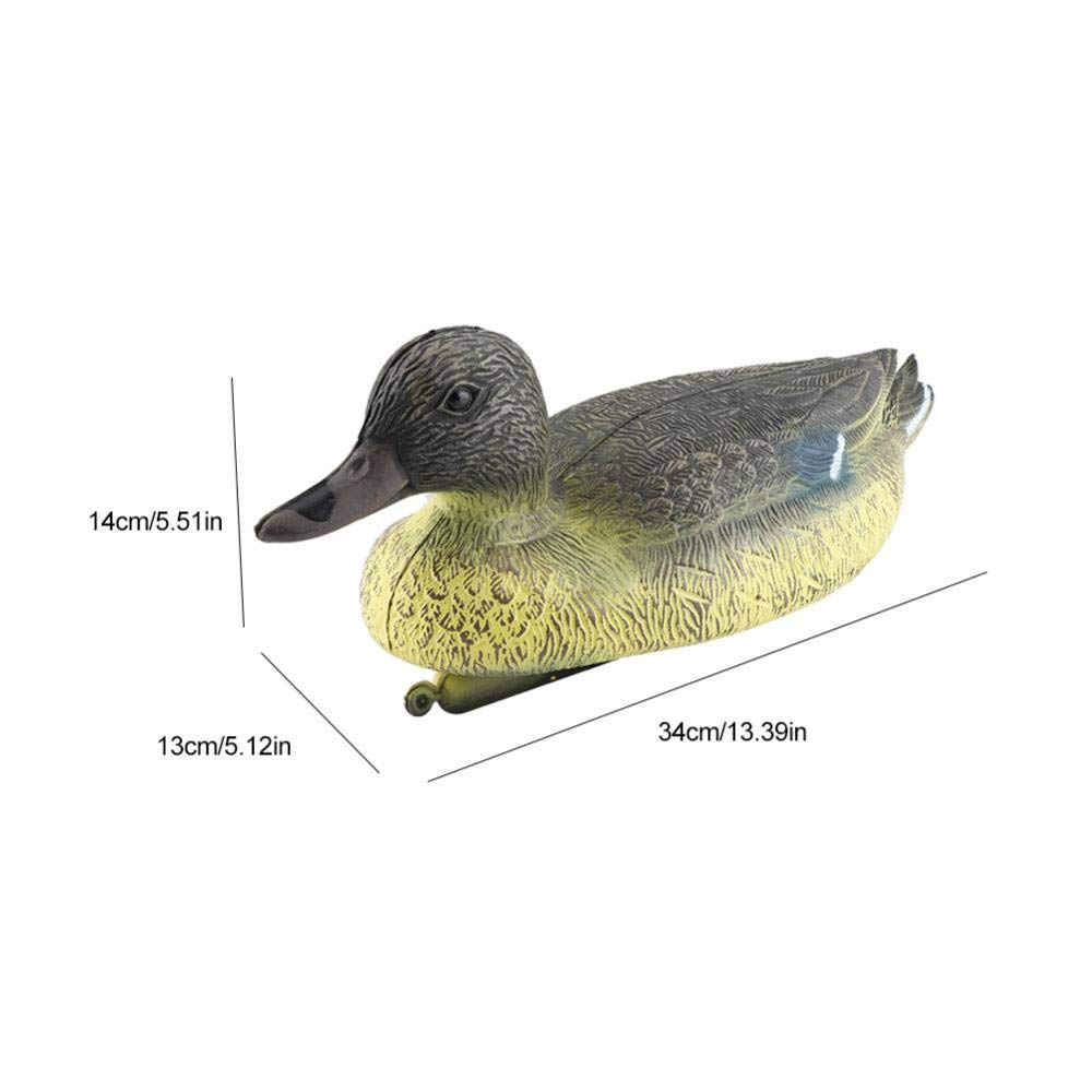 SGerste 4/St/ück Baby duckings Floating K/öder Enten Mallard Kunststoff Ornament Teich