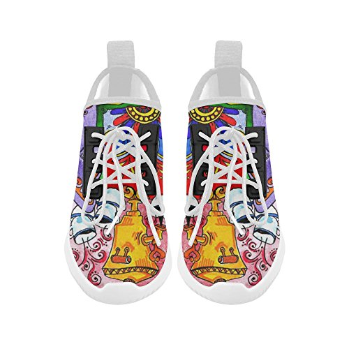 InterestPrint the elephant in the boat Dolphin Ultra Light Running Shoes for Women 7Q9FB