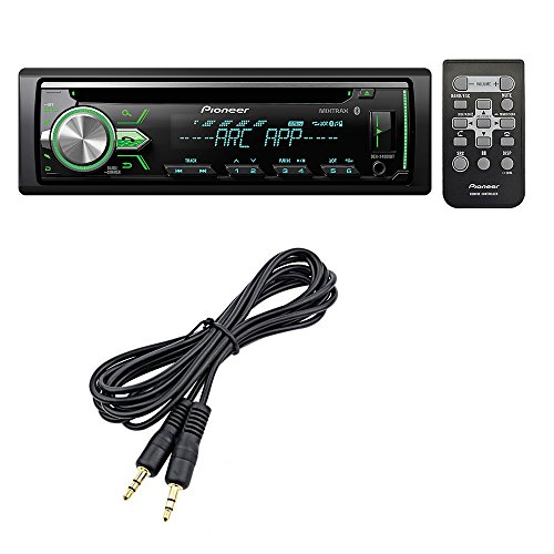 Pioneer DEH-X4900BT CD receiver with Mini to Mini Stereo Audio Cable