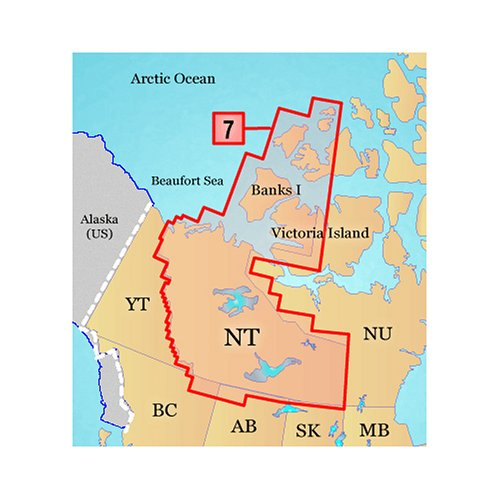 Garmin TOPO Northwest Territories Canada Map microSD Card