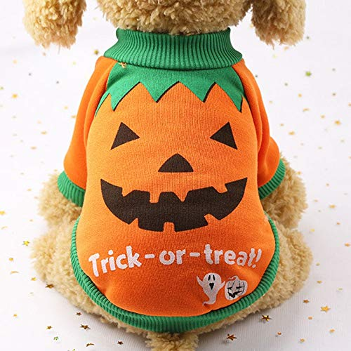 Dog Coats - Halloween Funny Pet Dog Costume Warm Cotton Dog Clothes for Small Dogs Chihuahua Pug Coat Jacket Puppy Cat Clothing Pet -