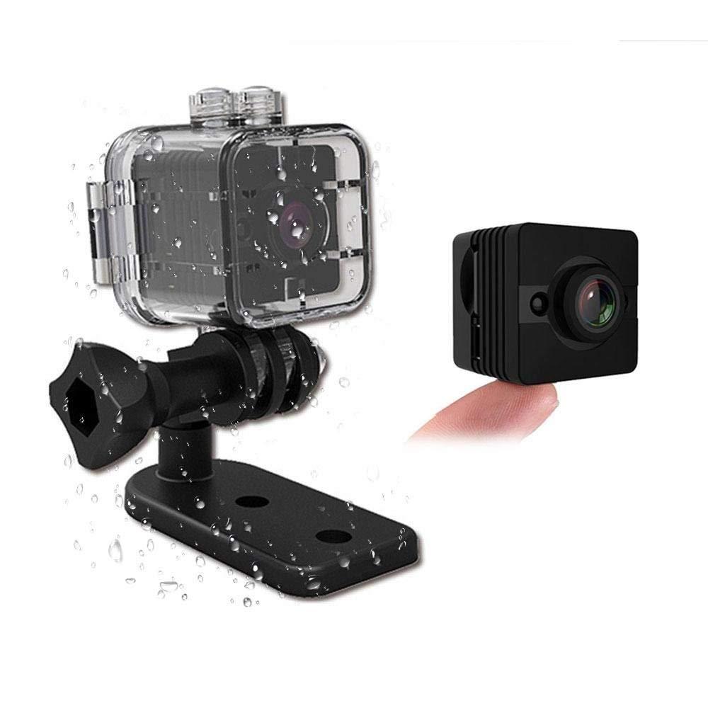 数量限定セール  防水ミニカメラSQ12 HDスポーツアクションカメラナイトビジョンビデオカメラ1080P DVビデオレコーダー自転車オートバイスキーダイビングシュノーケリングのための赤外線カーDVRカメラの動きの検出   B07QNK9H7Q, HONEY ME EYES 2d7a53ae
