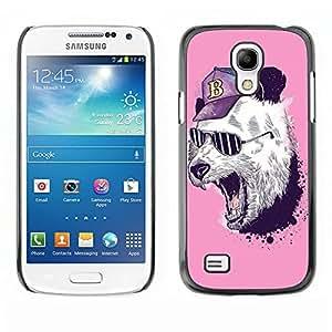 Dragon Case - FOR Samsung Galaxy S4 Mini i9190 - I??m tougher - Caja protectora de pl??stico duro de la cubierta Dise?¡Ào Slim Fit
