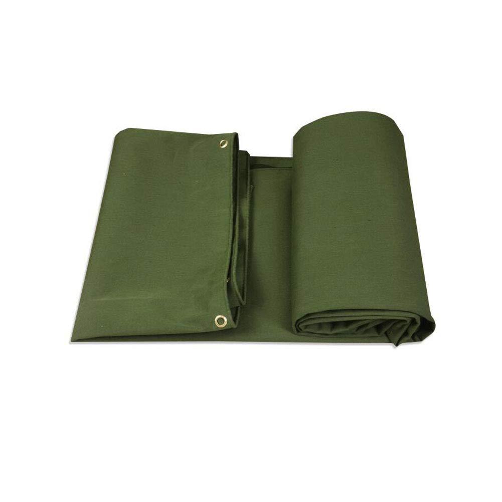 CJC ターポリン 640g/m² PVC 緑 アウトドア プロテクター 防水 キャンプ (色 : Green, サイズ さいず : 4x4m) 4x4m Green B07H71ZJSQ
