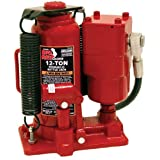 Torin Big Red TA91206 Air Hydraulic Bottle Jack, 12 Ton Capacity