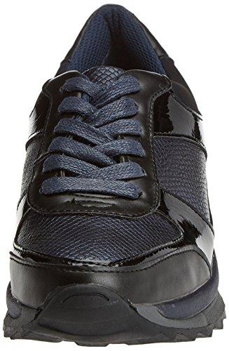 Navy bass3d Damen Sneaker 041350 Blau Navy Cw7w1qX