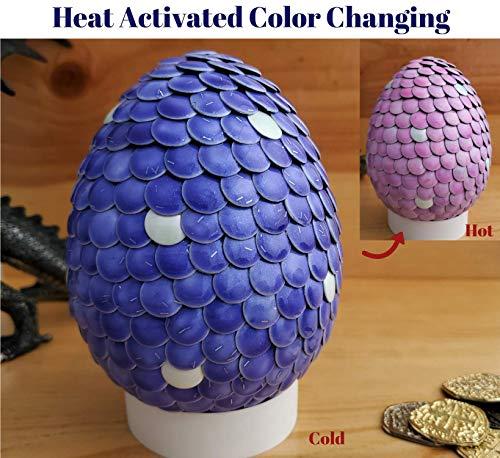 (Gender Reveal Mermaid Egg Color Change Purple)