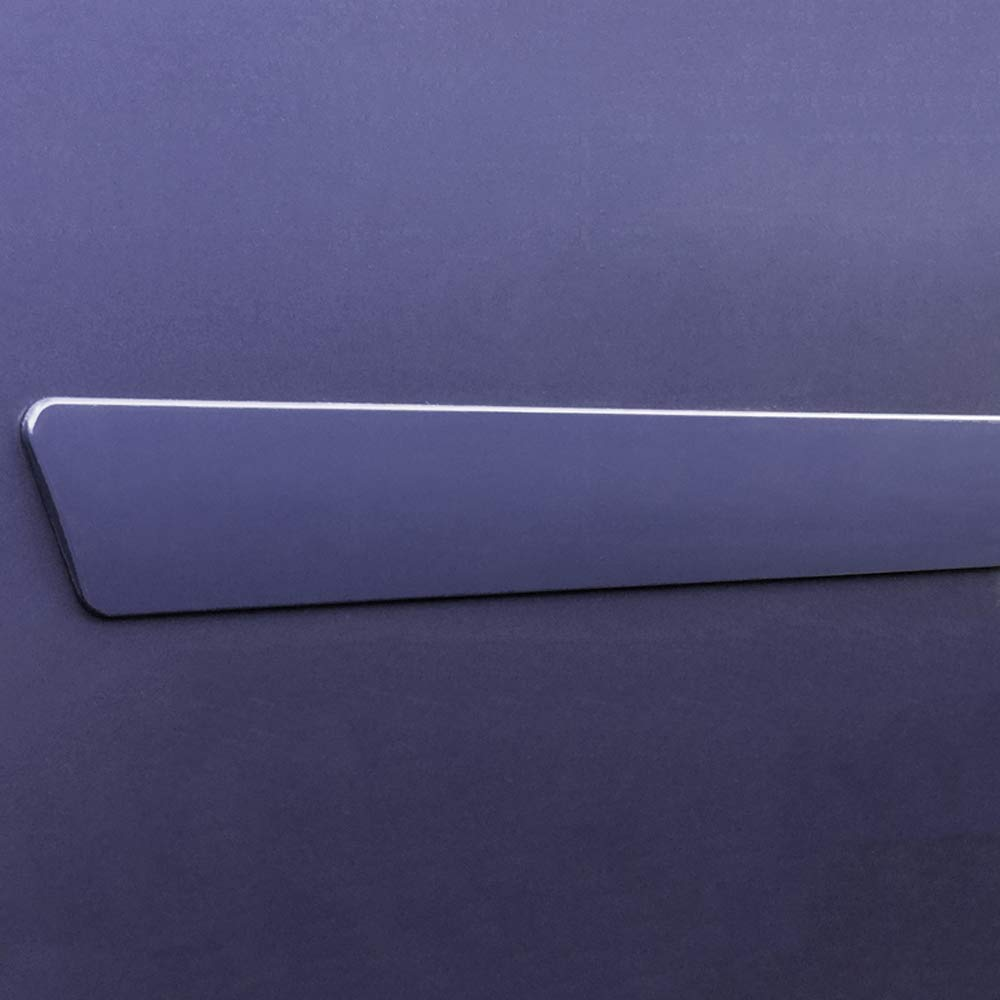 GMC Terrain GAN Switchblade Silver ICE Metallic WA636R Dawn Enterprises FE2-EQUINOX Finished End Body Side Molding Compatible with Chevrolet Equinox