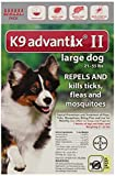 Bayer K9 Advantix II, Flea And Tick Control Treatment for Dogs, 21 to 55 Pound, 6-Month Supply