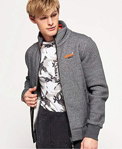 Label Veste De Sergé Superdry Gris Homme Survêtement Orange SAqRwXnZFx