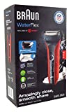 Braun WaterFlex WF2s Wet and Dry Electric Shaver with Swivel Head, Red Review