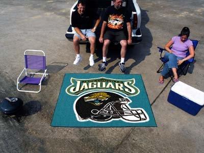 Fanmats Jacksonville Jaguars Football (Fan Mats Jacksonville Jaguars Tailgater Rug, 60